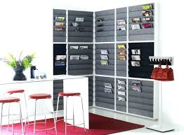 Office Wall Organizer Ideas Furniture Wall Mounted Magazine Rack Office Depot Doctor Hanging