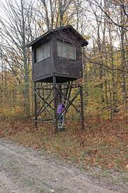 Box Blinds For Deer Hunting Tree Stand Wikipedia The Free Encyclopedia Hunting
