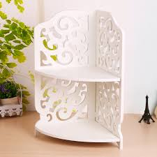 Small Bookcase White Aliexpress Com Buy Europe Type Kitchen Corner Shelf Double Layer