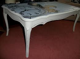 Clock Coffee Table by Fay Grayson Home French Clock Long Coffee Table