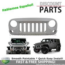 jeep wrangler front grill jeep wrangler front grill aggressive flare wild boar style angry