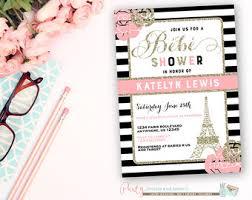 parisian baby shower baby shower invitations baby showers ideas