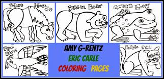eric carle coloring pages coloring pertaining eric