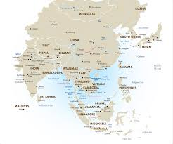 map of aisa asia tours vacation packages travel deals 2018 19 goway travel