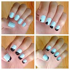 manicure monday lace nails styled with joy