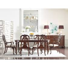 queen anne dining room sets traditional queen anne arm chair with upholstered seat by kincaid