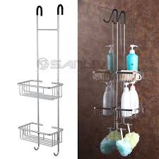 Shower Caddy Over The Door Stainless Steel by