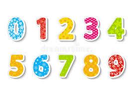 Excepcional Jogo de números da cor ilustração do vetor. Ilustração de dois  #PW61