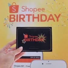 shopee celebrates birthday with massive promotions food malaysia