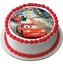 cars cake toppers cars 1 edible cake and cupcake topper edible prints on cake epoc