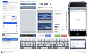 how to create iphone wireframes with inkscape