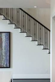 Metal Banister Spindles Staircase With Rpl Posts And Stainless Spindles Stairs