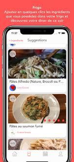 cuisine du soir wizzeat recettes du frigo on the app store