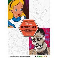 Disney  Coloriez et découvrez un nouveau personnage  Coloriages