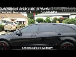 mercedes r350 2006 2006 mercedes r class r350 4matic for sale in los ang