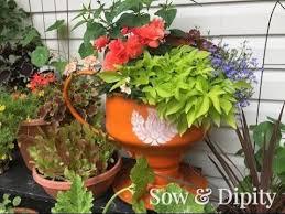tea cup tire planter youtube