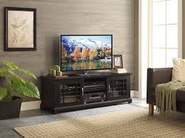 Tv Console Cabinet Design Amazon Com Whalen Furniture Calistoga Tv Console 60 Inch