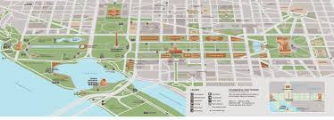Map Od Maps Update 21051488 Map Of Tourist Attractions In Washington Dc