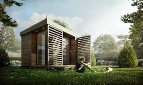 3d visualization u2013 garden office architectural visualization