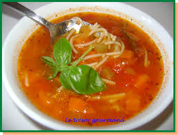 cuisine vite fait je considère cette soupe vite fait et me dépanne à tout coup