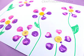 button flowers make bottle print button flowers crafty morning