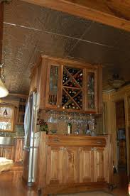 kitchen cabinets racks chic built in wine fridge featuring brown wooden kitchen cabinets