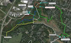 Portland Parking Map Sewer Work Closes Portland Trail Access Portland Trails