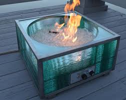 Glass Fire Pits by Fire Pit Etsy