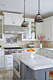 quick and easy decorating ideas for the kitchen my uncommon kitchen island and backsplash