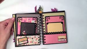 photo albums with pockets to scrap pocket page mini album