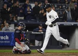 What S Next For Aaron Hicks As Aaron - hicks homers ortiz loses it as yankees top red sox 3 2 ny daily
