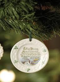 belleek irish blessing ornament blarney