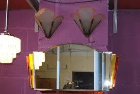 Art Deco Wall Lights Pair Of Art Deco Wall Lights Cloud 9 Art Deco Furniture Sales