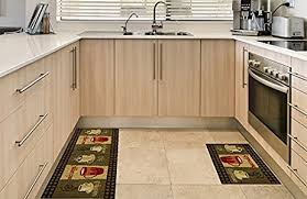 Decorative Kitchen Rugs Anti Bacterial Rubber Back Home And Kitchen Rugs Non