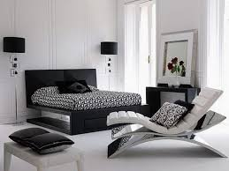 Modular Bed Frame Bedroom Minimalist Style Of Black And White Bedroom Using