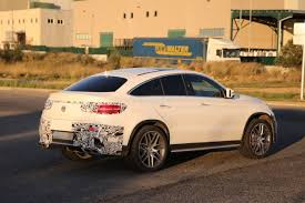 mercedes clothes lastcarnews mercedes gle 63 amg coupe spied in production
