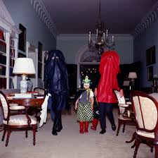 children in halloween costumes john f kennedy presidential