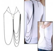 Draped Body Chain Necklaces Crystalmood Com