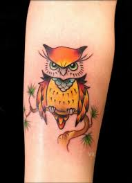 colorful owl owl tattoos designs and ideas owls