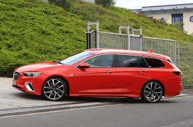 vauxhall insignia sports tourer gsi due with 252bhp and all wheel