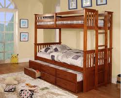 harvard twin twin bunk bed w trundle and drawers kids furniture