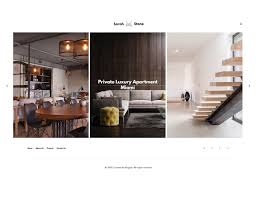 sarahstone u2013 interior design furniture html template u2013 hogash
