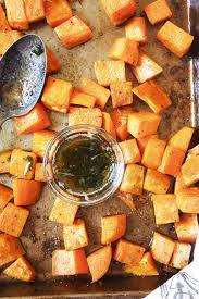 sweet potatoes recipes for thanksgiving brown butter sage roasted sweet potatoes