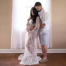 aliexpress com buy lace maternity dress gown wedding party maxi