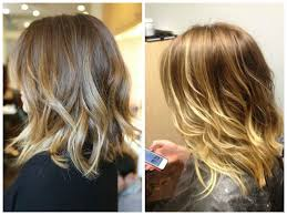 bob hairstyle ideas shoulder length hairstyles ombre women medium haircut