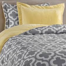 charlie printed reversible plush down alternative comforter set in