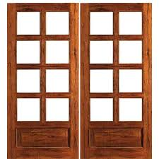 French Double Doors Interior Aaw Inc Rustic 8 Lite Panel Double Interior French Doors 8 Lite