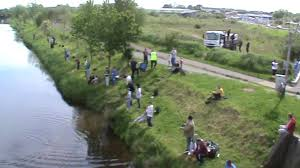 fishing competition on the canal bank of limerick 17 05 2014 clip