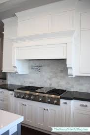 carrara marble kitchen backsplash my new kitchen kitchen white white cabinets and