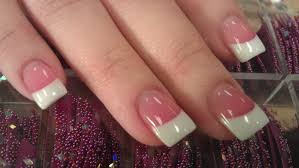 nail art 35 awful pink and white nails photo design pink and
